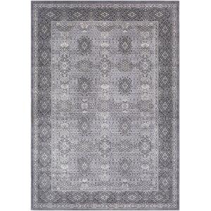 Tilleul Vintage Persian Distressed Gray Area Rug