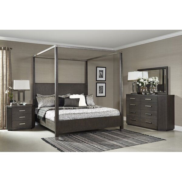 Tribeca Studio Canopy 3 Piece Bedroom Set by Fairfax Home Collections