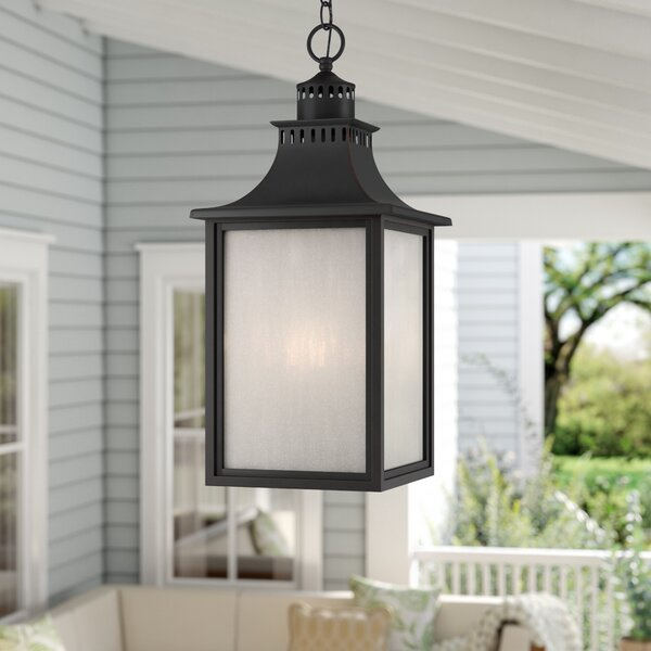 Kennett 3-Light Outdoor Hanging Lantern by Laurel Foundry Modern Farmhouse
