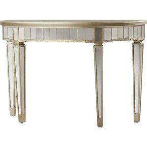 Aurora Mirrored Console Table