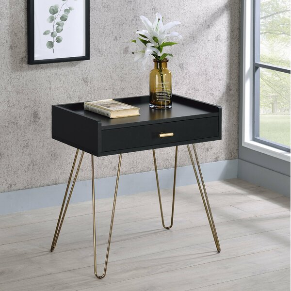 Brumiss Tray Top End Table with Storage by Everly Quinn Everly Quinn