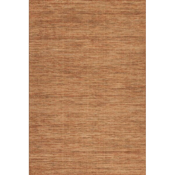 Minh Hand-Woven Spice Area Rug by Highland Dunes