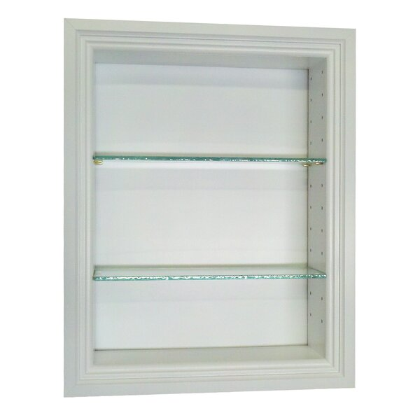 Bal Harbour 15.5 W x 25.5'' H Recessed Shelving by WG Wood Products
