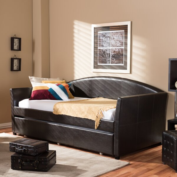 Calliope Twin Daybed with Trundle by Andover Mills Andover Mills