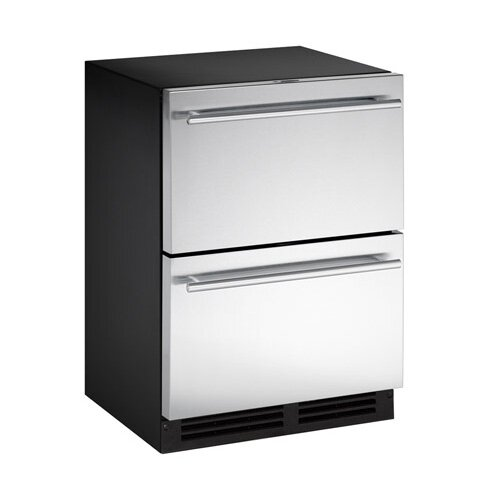 Stainless Steel 24-inch 5.3 cu. ft. Undercounter Refrigeration by U-Line