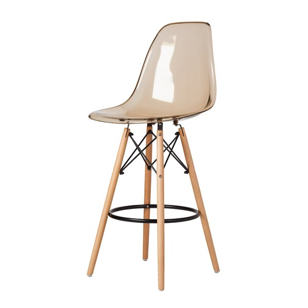Mcelrath Mid-Century 27 Bar Stool by Wrought Studio