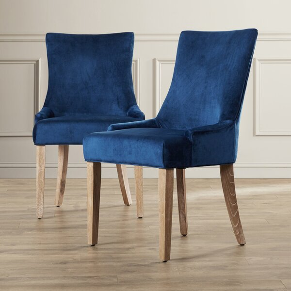 Brea Upholstered Dining Chair (Set of 2) by Willa Arlo Interiors Willa Arlo Interiors
