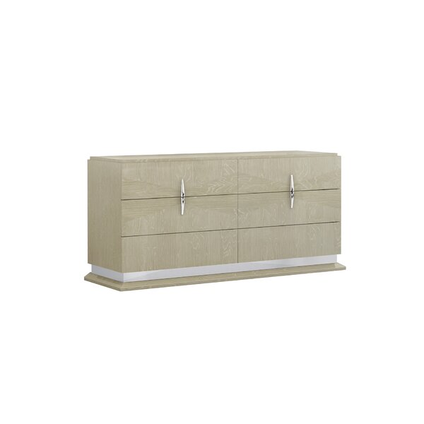 Eberle 6 Drawer Double Dresser by Orren Ellis