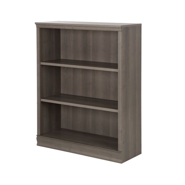Morgan 3-Shelf Bookcase by Andover Mills
