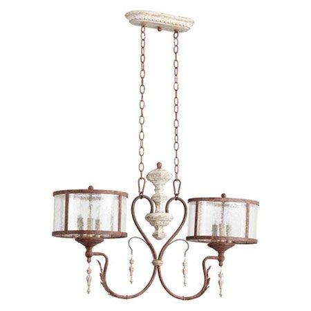 La Maison 6-Light Pendant by Quorum