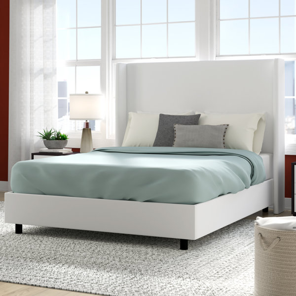 Goodrich Upholstered Standard Bed by Brayden Studio