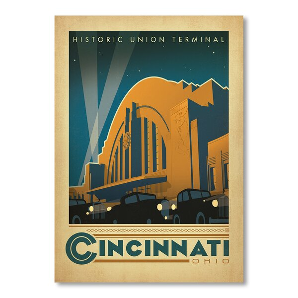 Cincinnati Vintage Advertisement by East Urban Home