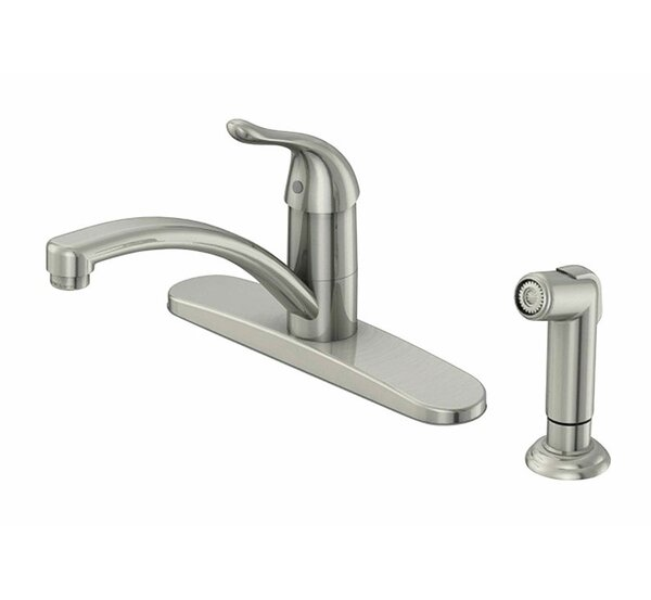 Touch Single Handle Kitchen Faucet with Side Spray by Oakbrook Collection