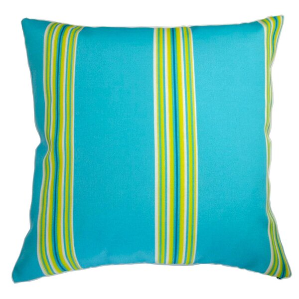 Chavis Modern Colorful Cabana Indoor/Outdoor Pillow by Longshore Tides