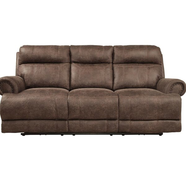 Tipton Reclining Sofa by Loon Peak