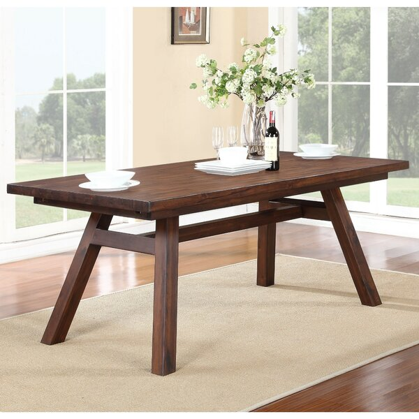 Garr Solid Wood Dining Table by George Oliver