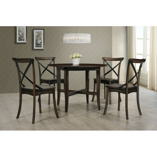 Aguon 5 Piece Dining Set by Three Posts