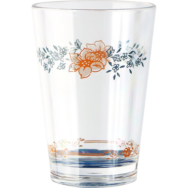 Livingware Apricot Grove 8 Oz. Acrylic Drinkware (Set of 6) by Corelle