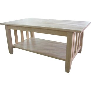 Price Check Lynn Mission Coffee Table By Mistana