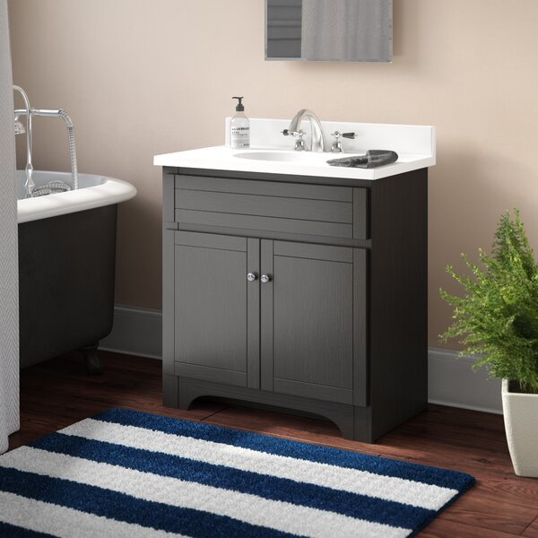 Norfolk 31 Single Bathroom Vanity Set by Andover Mills