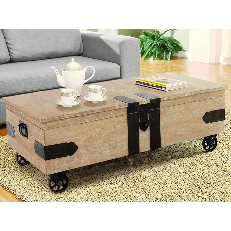 Genial Utility Trunk Coffee Table With Lift Top