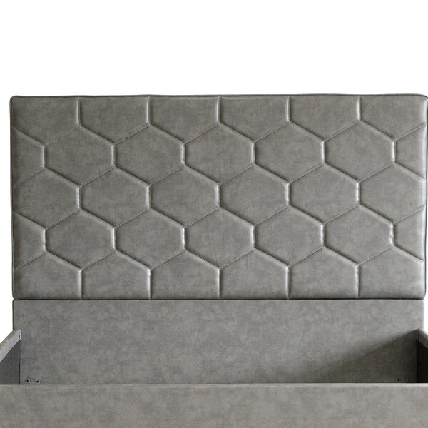 Aarav Upholstered Panel Headboard by Everly Quinn
