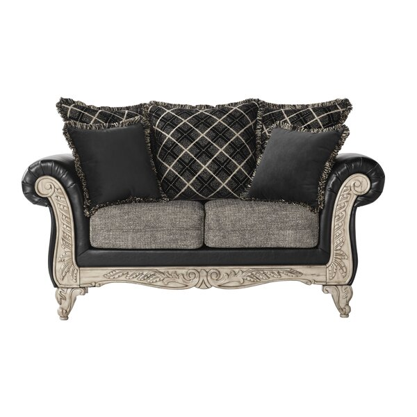 Serta Upholstery Ginsburg Loveseat by Astoria Grand