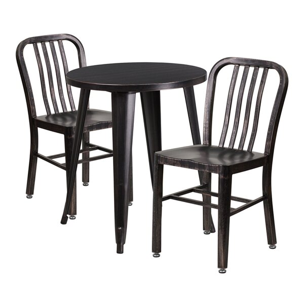 Arabella 3 Piece Bar Height Dining Set by Williston Forge
