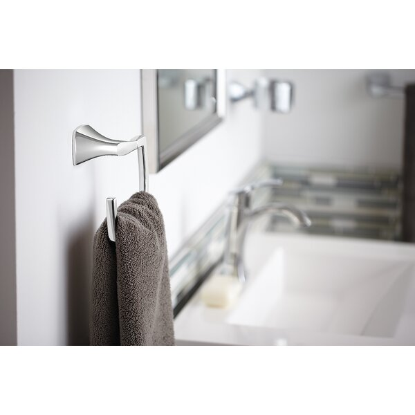 Voss Wall Mounted Towel Ring by Moen