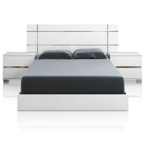 Salerno California king Platform Bed by Brayden Studio