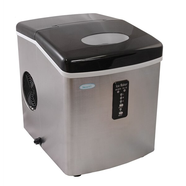 28 lb. Daily Production Portable Ice Maker by NewA