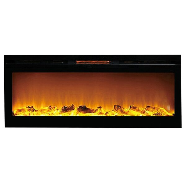 DeMotte Wall Mounted Electric Fireplace by Ivy Bronx Ivy Bronx