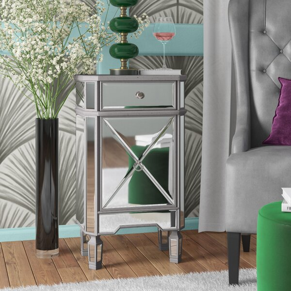 Orpha 1 Door Accent Cabinet by Rosdorf Park