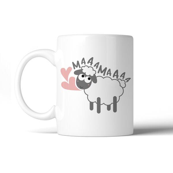 Helle MaaaMaaa Sheep Coffee Mug by Ebern Designs