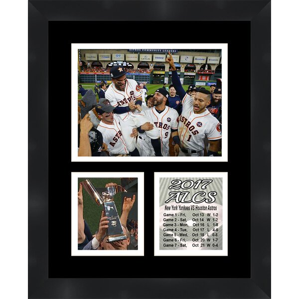 Houston Astros 2017 MLB American League Champions Framed Photographic Print by Frames By Mail