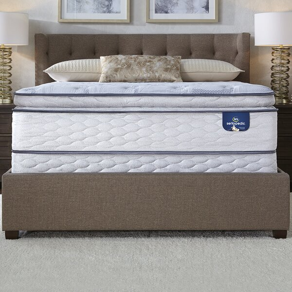 Sertapedic 12 Plush Pillow Top Mattress by Serta