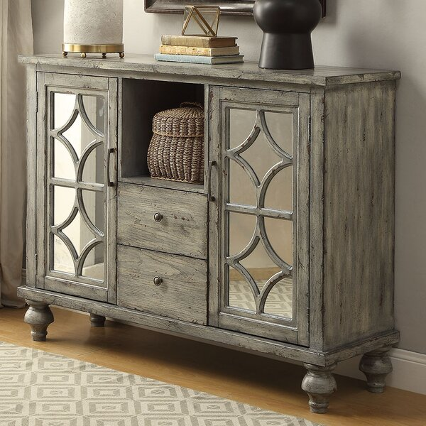 Diondre 2 Doors Accent Cabinet by Bungalow Rose