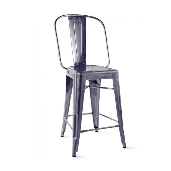 Despres Steel Counter 24 Bar Stool (Set of 4) by Williston Forge