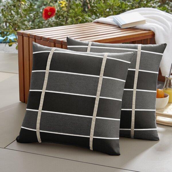 Harbin Indoor/Outdoor Throw Pillow (Set of 2)