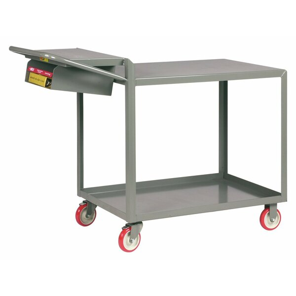 24 x 64 Utility Cart with Writing Shelf and Storage Pocket by Little Giant USA