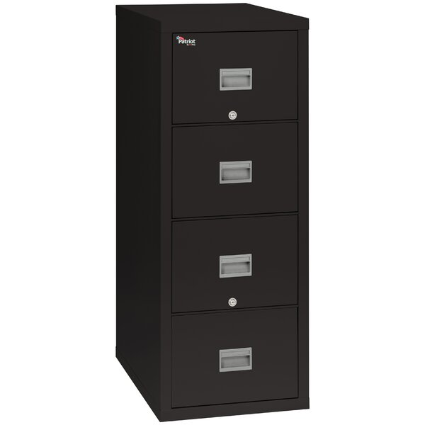 Fireproof 4-Drawer Vertical filing cabinet