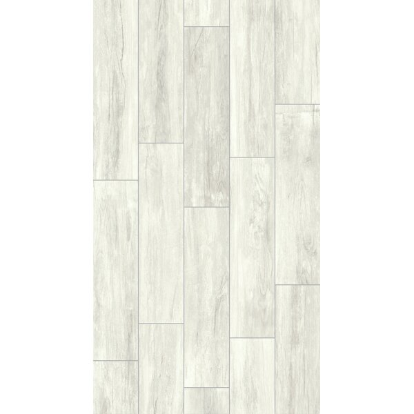 Provident 8 x 32 Porcelain Wood Tile in Snow by Parvatile
