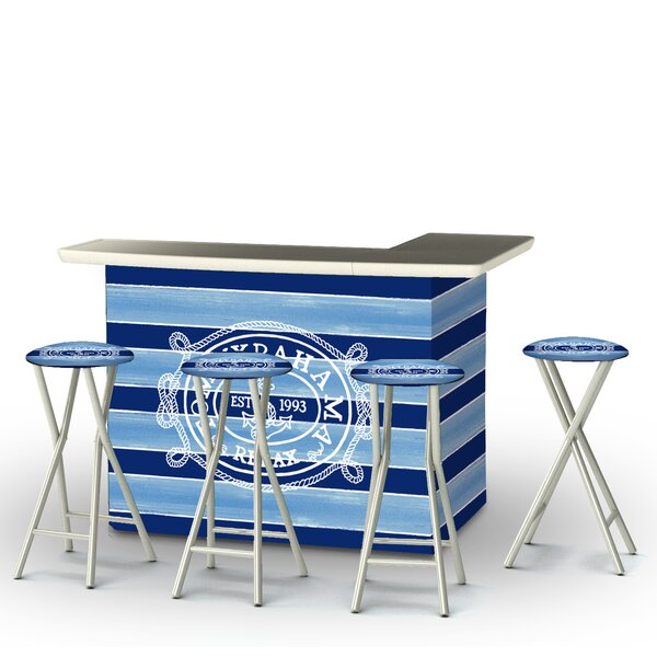 Tommy Bahama 7 Piece Bar Set by Best of Times