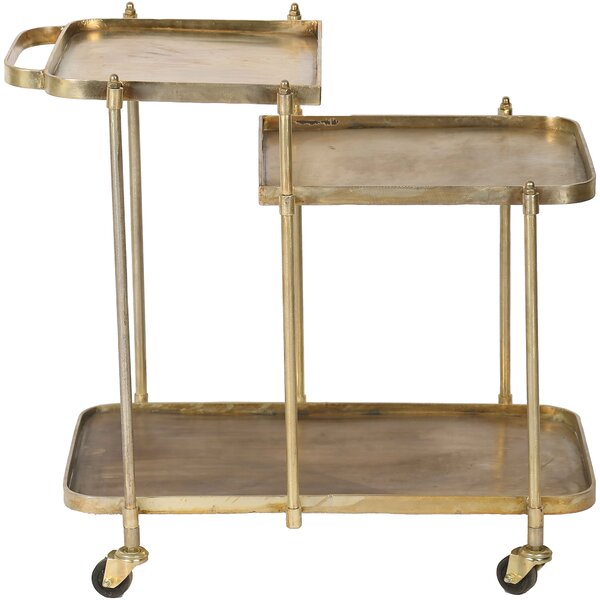 Domenick Antique Bar Cart By House Of Hampton Great Reviews