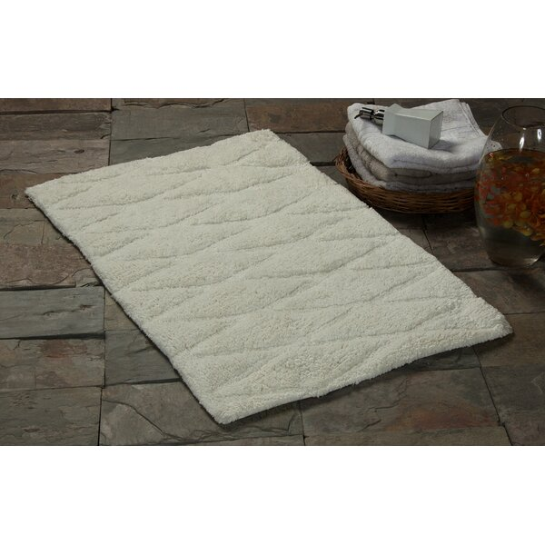 Newville Rectangle 100% Cotton Bath Rug