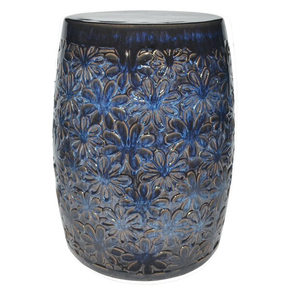 Harding Flower Garden Stool by World Menagerie