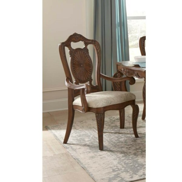 Emmitt Leatherette Upholstered Dining Chair (Set of 2) by Astoria Grand