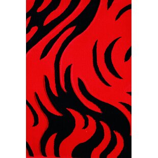 Buying Vendramin Red/Black Area Rug By Orren Ellis