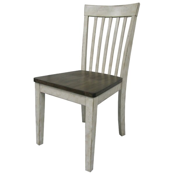 Culbertson Solid Wood Dining Chair by Ophelia & Co.