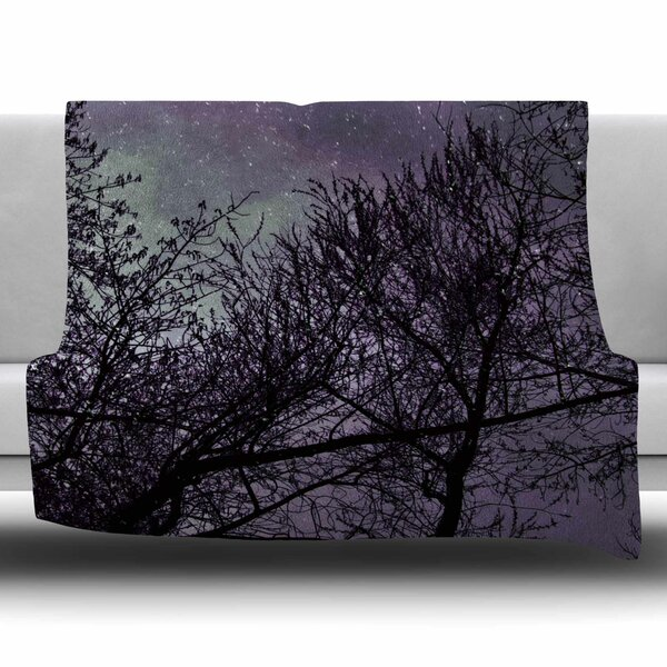 Sky by Sylvia Coomes Fleece Blanket by East Urban Home